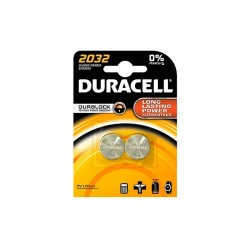 DURACELL ELECTRONICS 3V LM2032 CR2032 2τεμ Μπαταρία Λιθίου